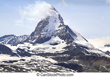 View of Matterhorn, Swiss