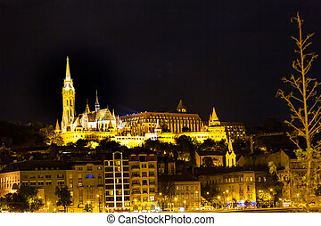 View of Matthias Church in Budapest