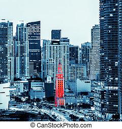 View of Miami downtown