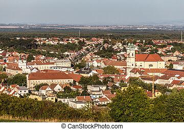 View of Mikulov town - Mikulov, Czech Republic