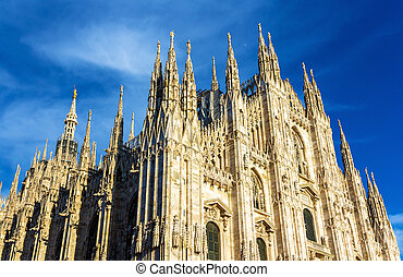 View of Milan Cathedral - Italy