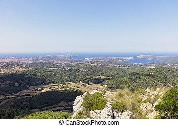 View of Minorca
