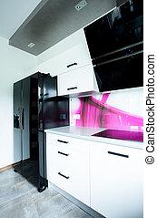 View of modern kitchen