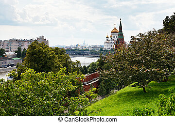 view of Moscow from Kremlin