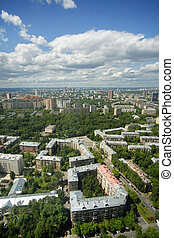 View of Moscow from
