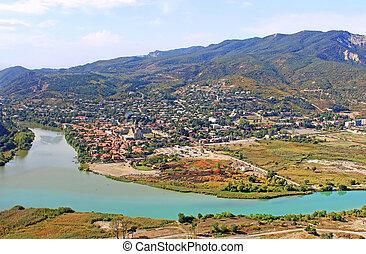 View of Mtskheta, Georgia