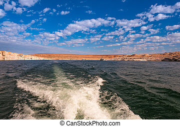 Lake Powell, Arizona.