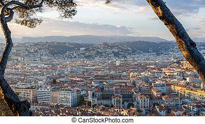 View of Nice city - Côte d'Azur - France