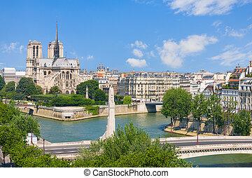 View of Notre Dame de Paris
