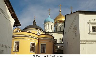 View of Novospassky Monastery