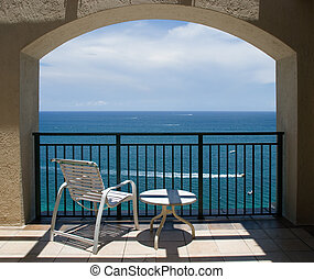 View of Ocean Under - An inviting view of the ocean through ...