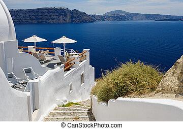 View of Oia, Santorini