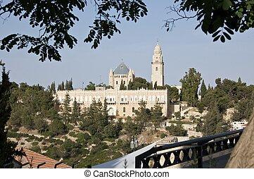 View of Old City, Jerusalem