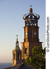 Our Lady of Guadalupe Cathedral, Puerto Vallarta - View of ...