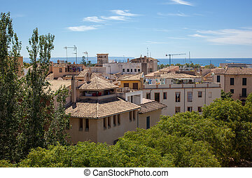 View of Palma de Mallorca