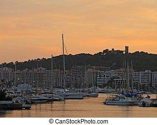 View of Palma de Mallorca