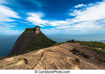 View of Pedra da Gavea Mountain