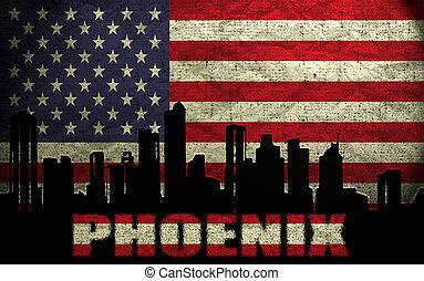 View of Phoenix City