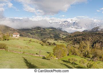 View of Picos de Europa