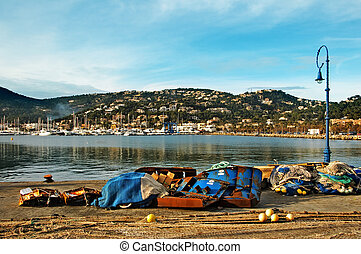 view of Port d'Andratx, in Mallorca, Balearic Islands, Spain