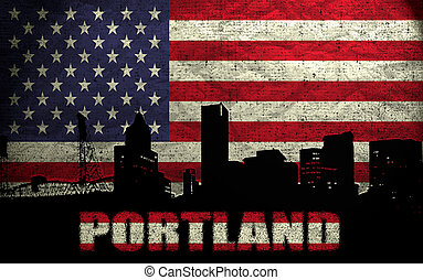 View of Portland City