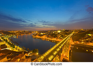 Porto at a summer night