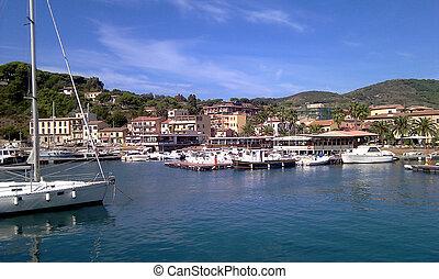 View Of Porto Azzurro, Elba Island