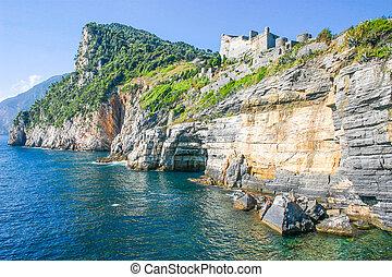 View of Portovenere, Italy