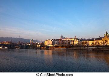 view of Prague. Czech Republic
