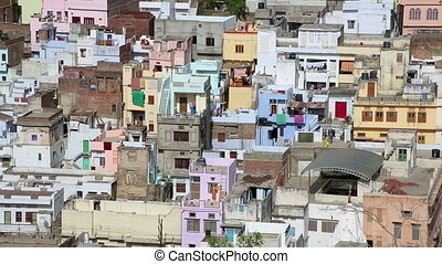 View of residential district - View of densely populated...