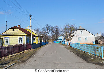 View of rural street