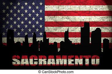View of Sacramento City