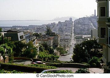 San Francisco - View of San Francisco from Lambert Street