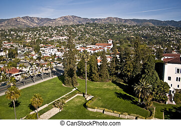View of Santa Barbara