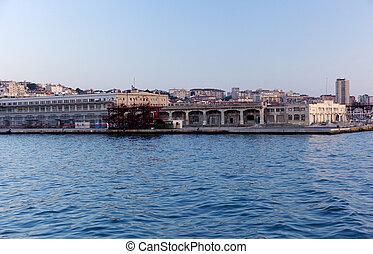 Trieste - View of seaport, Trieste - Italy