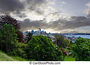 Seattle from Distance