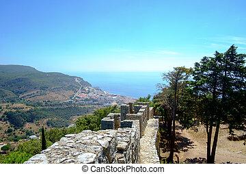 View of Sesimbra from the Moorish Castle