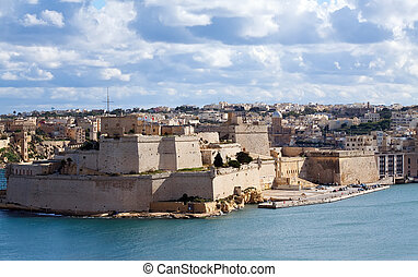 St. Angelo Fort at Vittoriosa