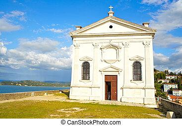 St. George church, Piran - Slovenia