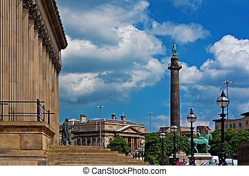 View of St Georges Hall Liverpool UK