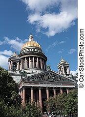View of St. Isaac's Cathedral