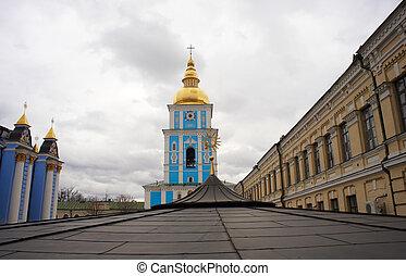 St. Michael's Bell Tower in Kiev, Ukraine