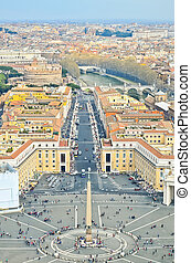 View of St. Peter's Square, Vatican