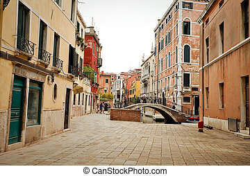 View of street in Venice