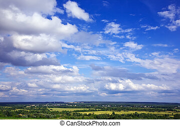 View of summer landscape
