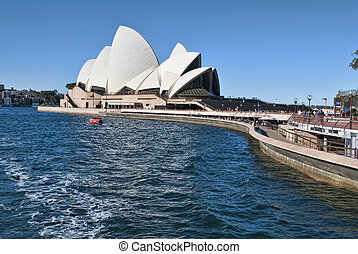 View of Sydney Harbour in Australia