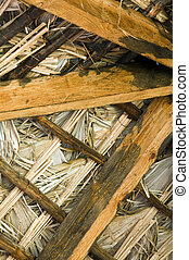 thatched roof construction