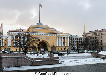view of the Admiralty Building