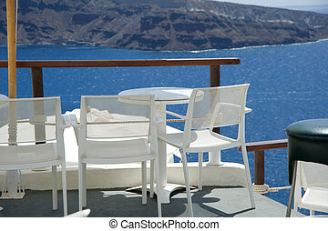 View of the aegean sea