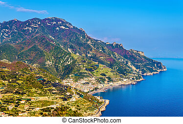 View of the Amalfi Coast from Ravello